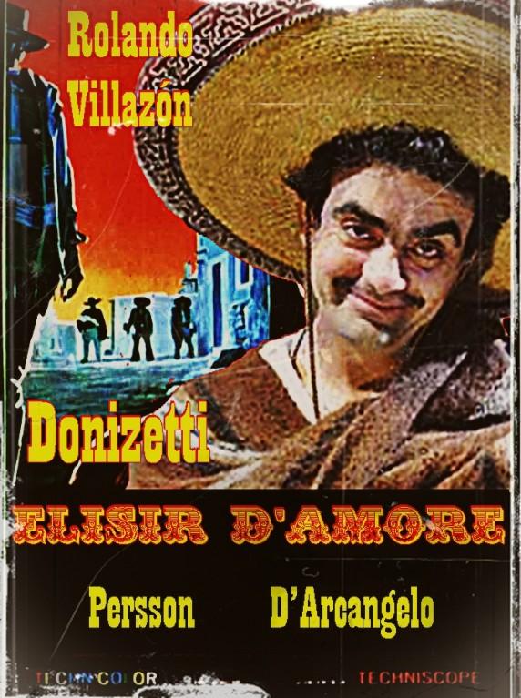 Rolando Villazón como Nemorino