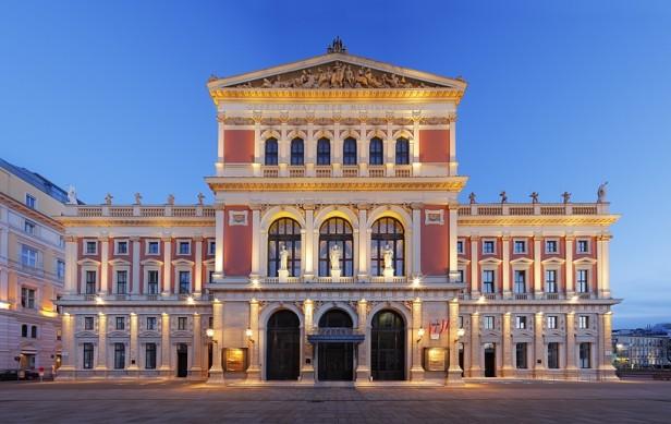 Musikverein sede de la Filarmónica de Viena