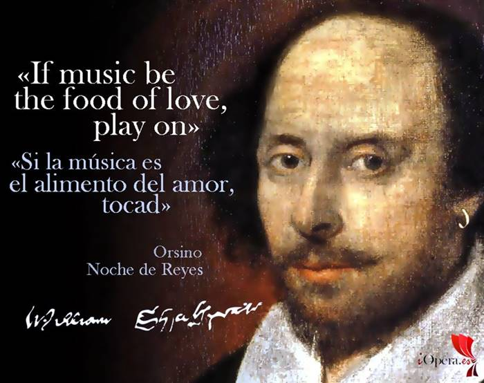 William Shakespeare en la opera