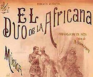 El duo de la africana