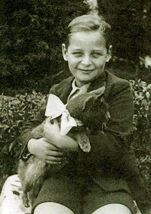 El pequeño Alfredo Kraus