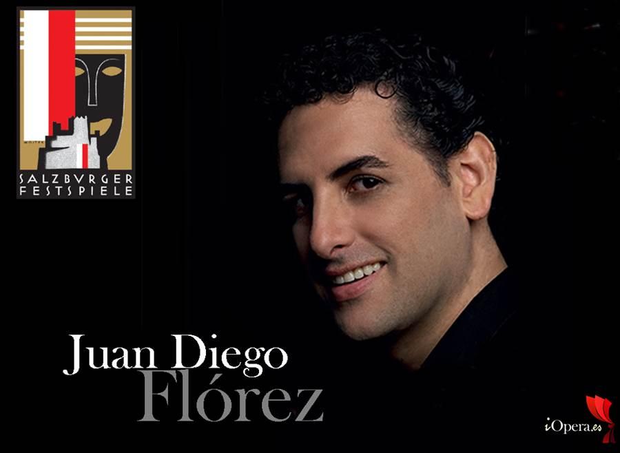 Juan Diego Florez Recital Festival Salzburgo 2015