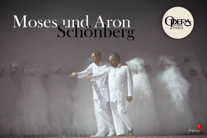 Moses und Aron Ópera de Paris Teatro Real Madrid Opera Arnold Schönberg