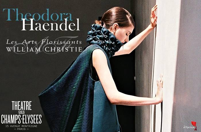 Theodora de Haendel, desde el Théâtre des Champs-Elysées de Paris
