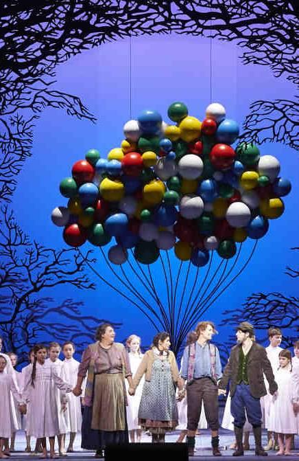 Hansel y Gretel desde Viena ópera de Humperdinck vídeo iopera