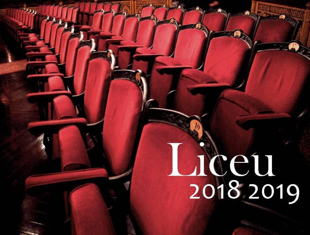 Liceo Barcelona temporada 2018 2019