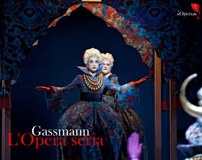 L'Opera seria en Bruselas Gassmann Rene Jacobs vídeo