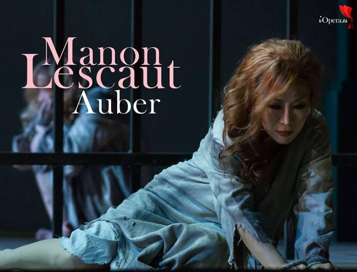 Manon Lescaut de Auber desde la Opera Royal Wallonie de Lieja