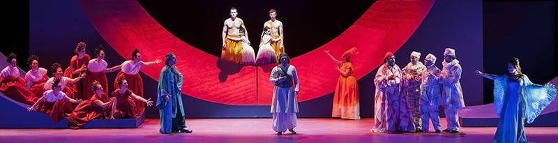 la donna serpente de Alfredo Casella desde el teatro Regio de Turín con Carmela Remigio