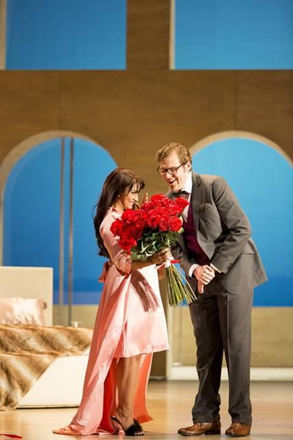 Agrippina de Haendel en Viena marzo 2016 vídeo Theater an der Wien Robert Carsen