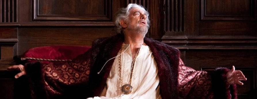 Plácido Domingo como Simon Boccanegra