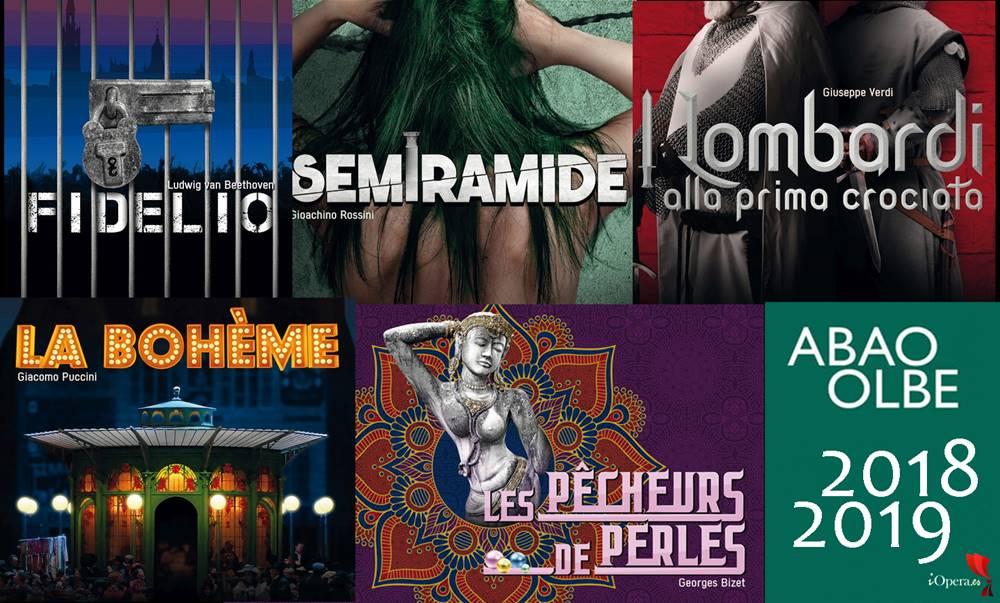 ABAO programación temporada 2018 2019 ópera Bilbao iopera