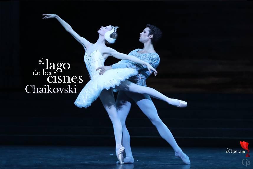 Chaikovski Lago de los Cisnes ballet en París