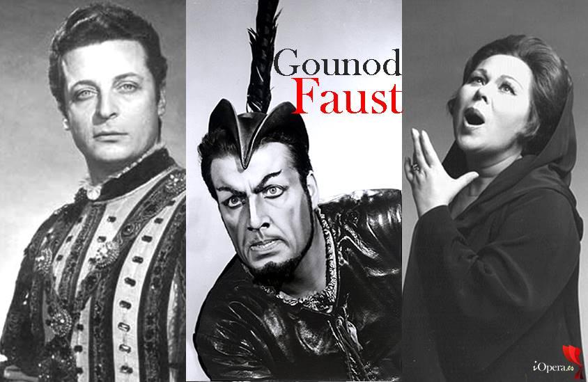 Faust de Gounod 1973 Kraus Ghiaurov Scotto