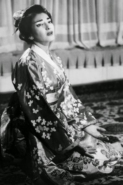 Maria Callas como Cio Cio San Madama butterfly Puccini un bel dí vedremo Un bel dì vedremo vídeo aria