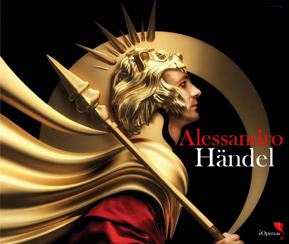 Alessandro de Händel en Versalles Max Emanuel CENCIC