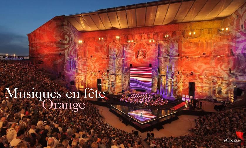 choregies Musiques en fête 2017 en Orange