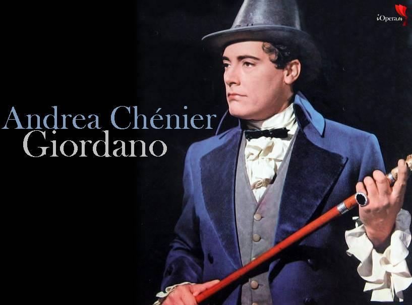 MARIO-DEL-MONACO Andrea Chénier con del Monaco, Stella y Taddei