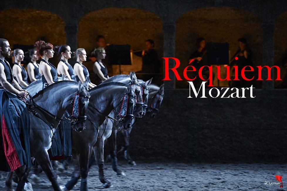 Réquiem de Mozart coreografiado por Bartabas vídeo