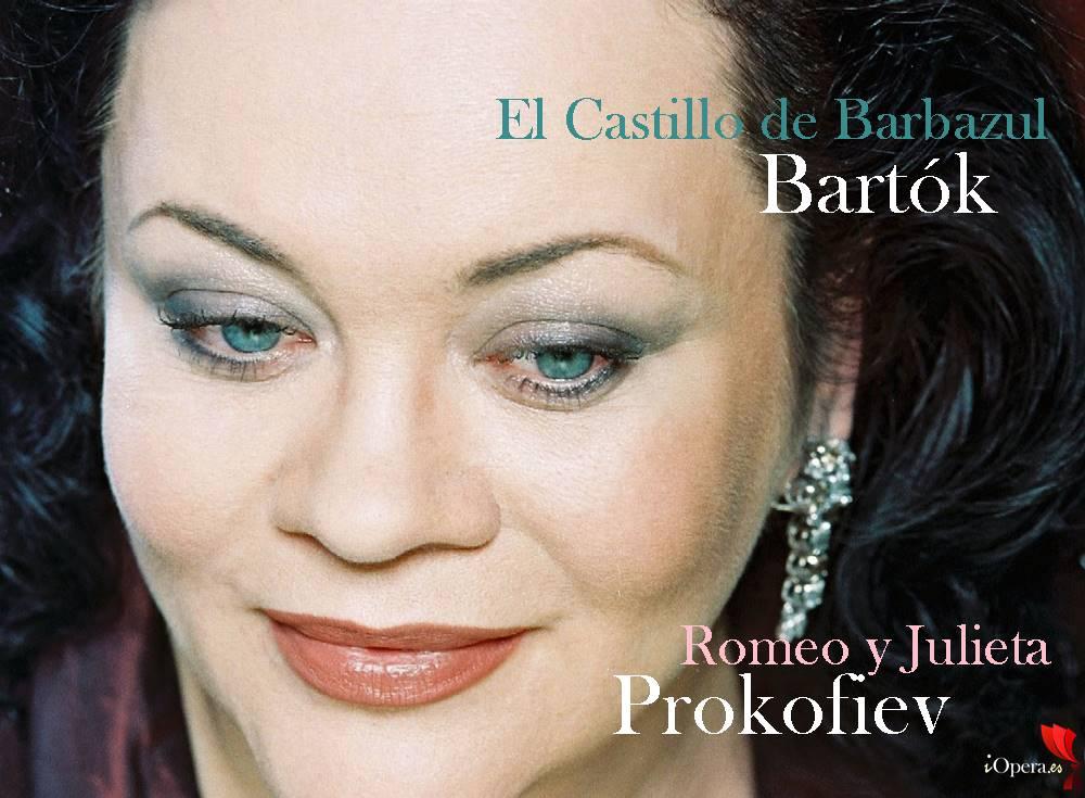 Romeo y Julieta de Prokofiev y El Castillo de Barbazul de Bartók Violeta Urmana