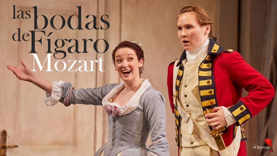 Las bodas de Fígaro por Garsington Opera Le nozze di Figaro Garsington Opera 2017 Jennifer France (Susanna), Marta Fontanals-Simmons (Cherubino)