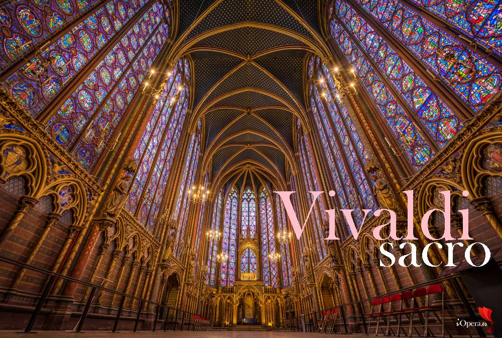 Vivaldi sacro por el contratenor Tim Mead sainte-chapelle paris-france