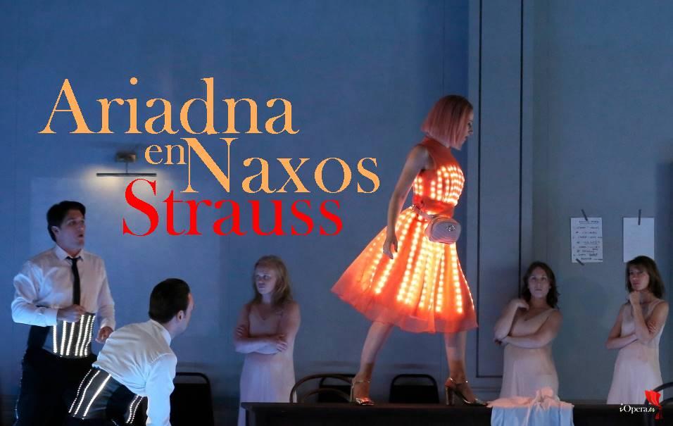 Ariadna en Naxos de Strauss desde el Festival d'Aix-en-Provence