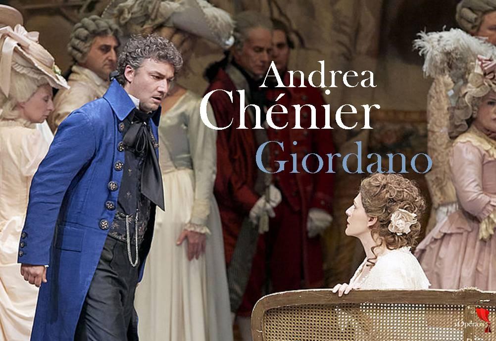 Andrea Chénier con Kaufmann en Viena, desde la Wiener Staatsoper, vídeo de la ópera de Umberto Giordano, protagonizada por Anja Harteros y Jonas Kaufmann 2018