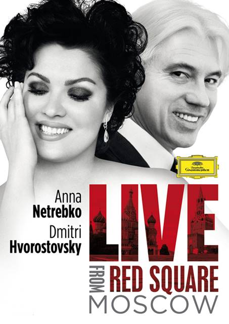 Anna Netrebko y Dmitri Hvorostovski en La Plaza Roja de Moscú vídeo recuerdo rusia