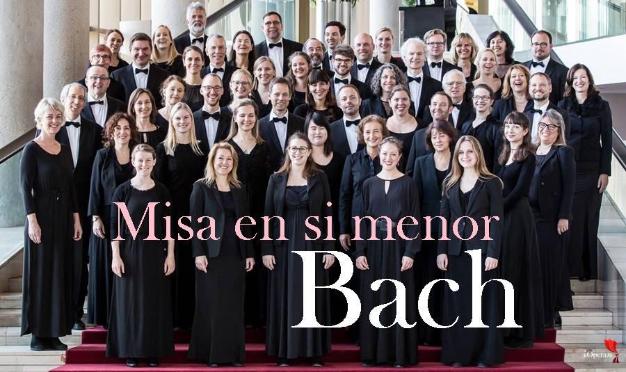 Misa en si menor de Bach en Moscú Coro Bach de Múnich