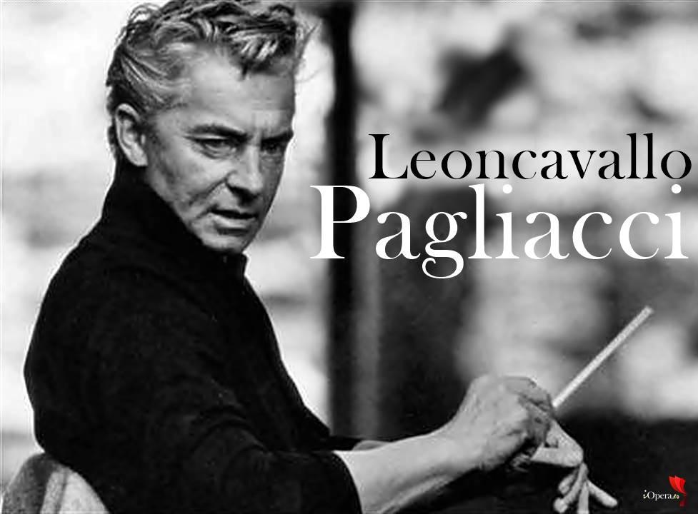 Pagliacci de Leoncavallo por Karajan vídeo