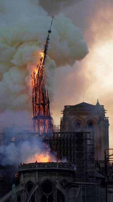 Réquiem de Berlioz desde Notre Dame vídeo incendio