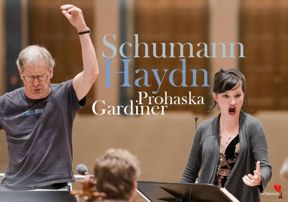 Concierto con Gardiner y Anna Prohaska vídeo haydn schumann