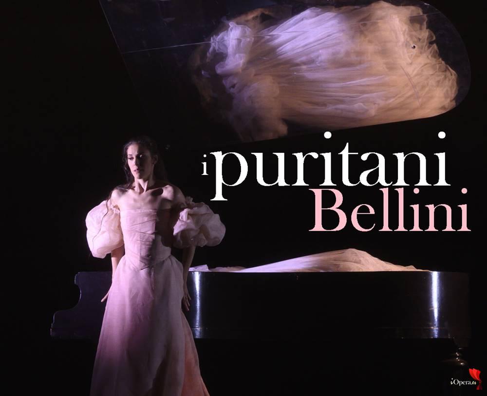 I puritani de Bellini en Lieja, desde la Opéra Royal de Wallonie-Liège, vídeo de la ópera de Vincenzo Bellini, protagonizada por Lawrence Brownlee y Zuzana Marková