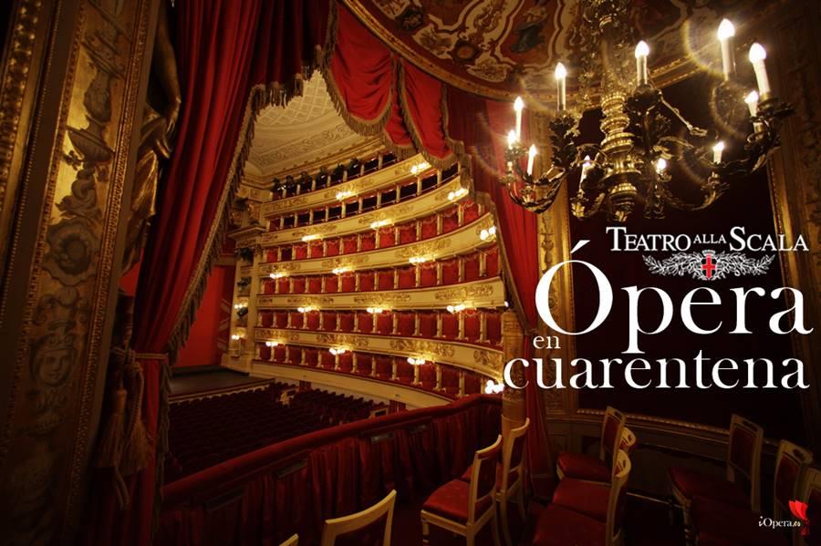 Ópera en cuarentena, la Scala de Milán vídeo