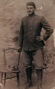 Albino Bonomi durante la Grande Guerra