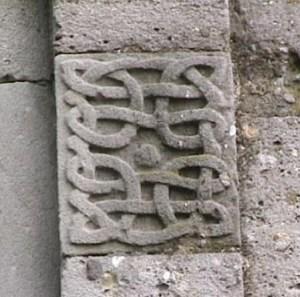 Fregio trinitario Vaprio San Colombano romanico lombardo