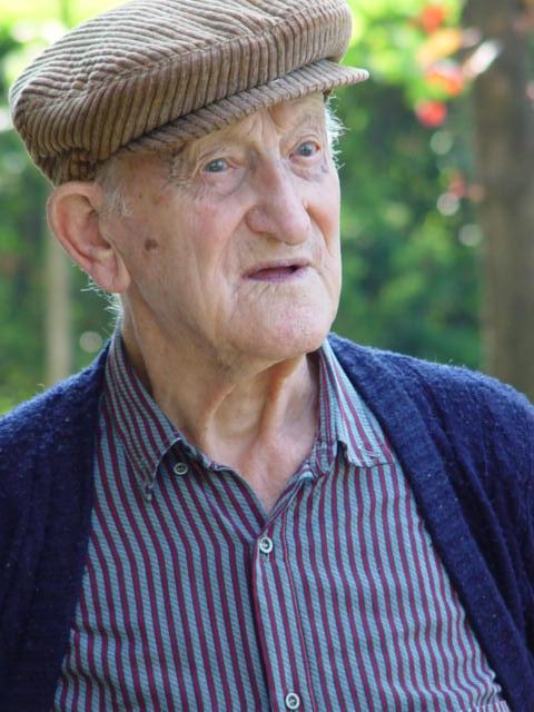 Centenario intervistato: «Masìn», secolo d'uomo