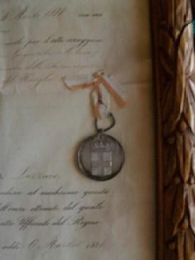 La medaglia d'argento