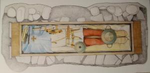 """Ritrovamenti longobardi, Università Cattolica """"Sacro Cuore"""", storia trezzo, storia altomedioevale, siti archeologici longobardi, storia longobardi, tombe longobarde, siti longobardi, trezzo sull'adda, san Martino dei longobardi, via delle Racche, santo Stefano trezzo, società operaia di mutuo soccorso, soms, Valverde, san Michele in Sallianense, Archeologia Medievale a Trezzo sull'Adda, Vita e Pensiero, Silvia Lusuardi Siena, Caterina Giostra, archeologia altomedioevale, fanciullo soldato"""