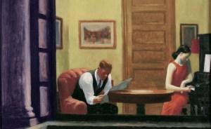 Edward Hopper, Room at night