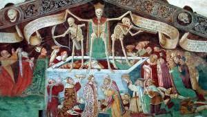Reginaldo da Priverno, tommaso d'aquino, raimondo spiazzi, Quid paleis ad triticum?, Summa Theologiae, Letilogia, Bettino Uliciani, Danza Macabra, danza macabra Clusone, Trionfo della Morte, trionfo morte palermo, Omnis caro fenum, fenus, Nera Mietitrice, Hieronymus Bosch, Il carro di Fieno, Ludovico Guicciardini, cacciata adamo eva, inferno, trittico bosch, ogni carne è fieno, discorso della montagna, essere e tempo, martin heidegger, tertulliano, De resurrectione carnis, ogni uomo è come l'erba, morte, falce morte, saturno, cronos, vanitas, omnis caro fenum