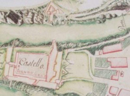 AsMi, Mappa del 1753 in copia presso Raccolta Rino Tinelli