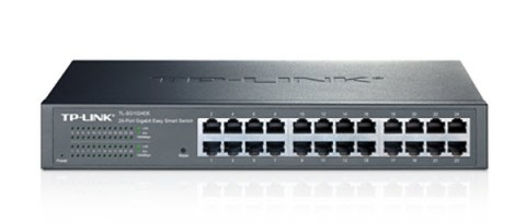 Tools for segmenting the network are approaching consumer-grade price points. Pictured: TP-Link TL-SG1024DE-V1-011 Gigabit Switch