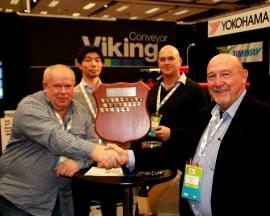 VIKING CONVEYOR- 2016 recipient of AJ&RJ Loader Sponsor's Award