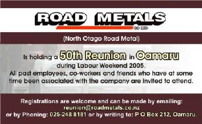 Road Metals -runion