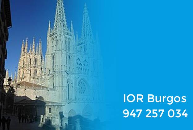 IOR Burgos. Datos de contacto del Instituto Oftalmológico Recoletas Calzada en Burgos