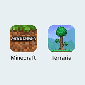 Minecraft и Terraria