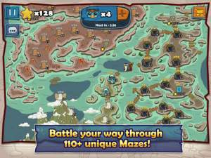 A-Maze-In iPhone iPad game review ss2