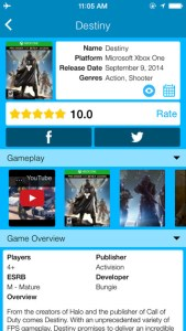 igames iPhone app review ss2